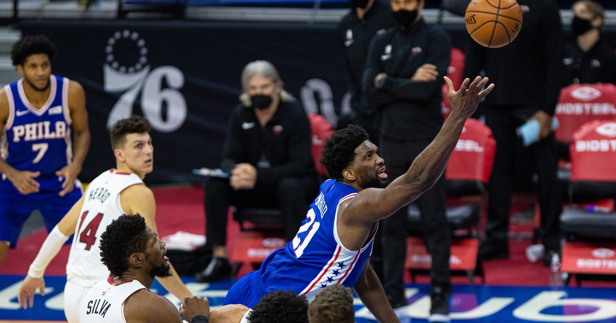 Instant observations: Joel Embiid carries Sixers to win vs. Heat with 45 points, MVP-level effort | PhillyVoice