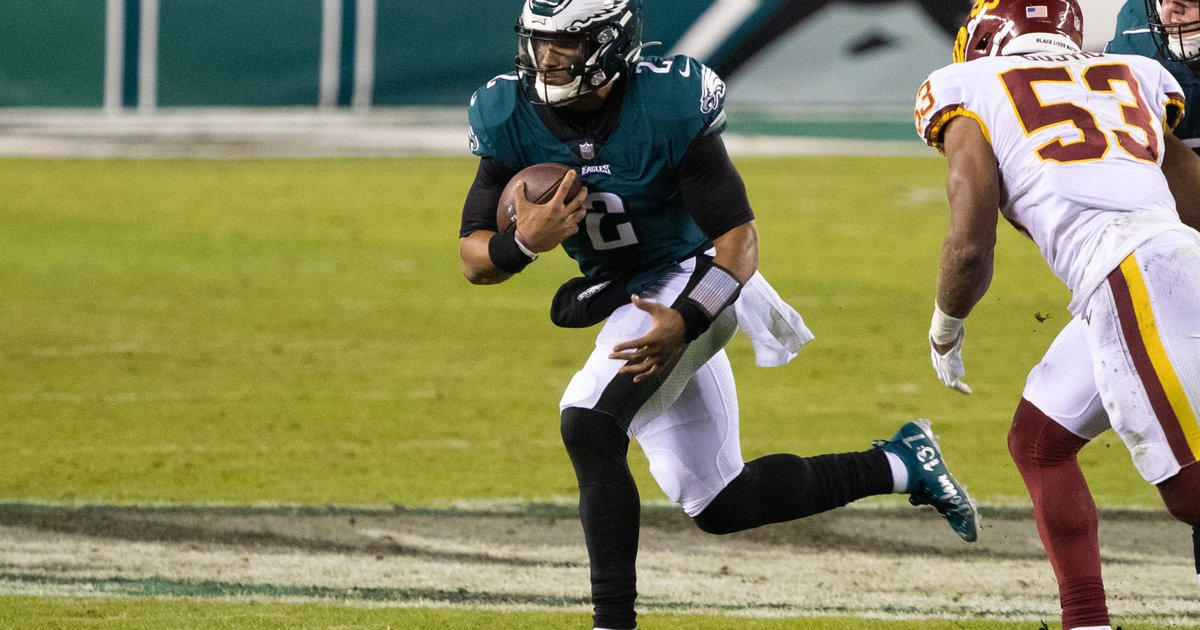 A look at the Eagles' initial win-loss over-unders, and other NFL odds