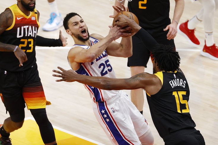 Instant Observations Sixers Lose To Jazz Despite Career High 42 From Ben Simmons Phillyvoice