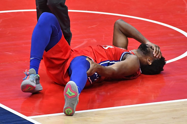 Here's what we know so far about Joel Embiid's left knee injury |  PhillyVoice