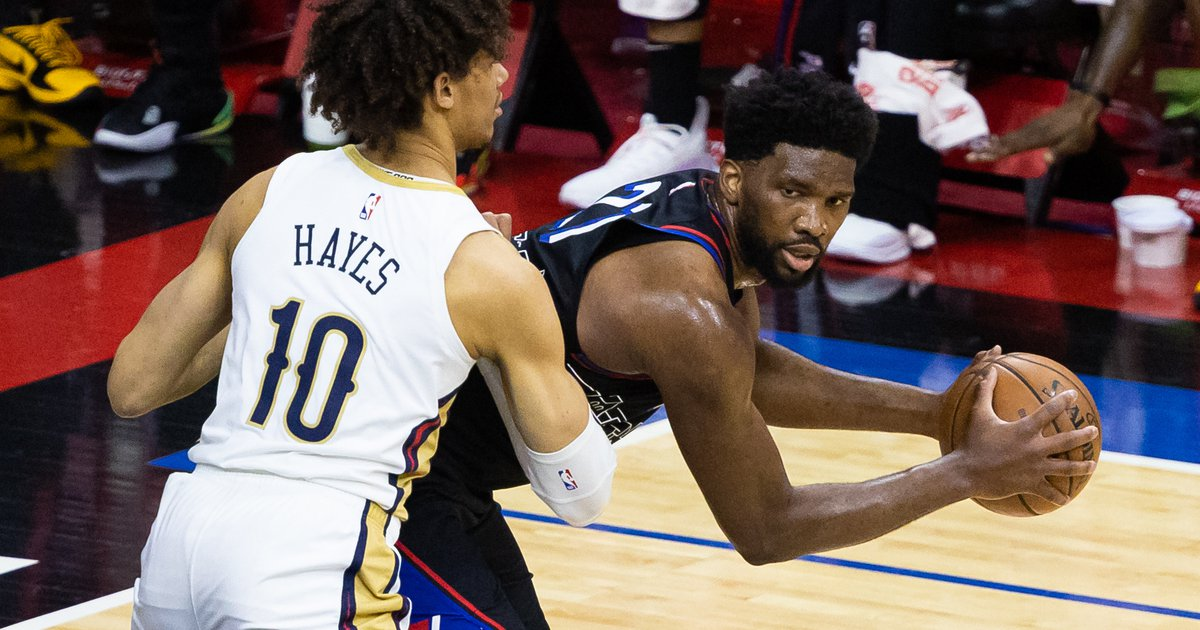 Instant observations: Sixers win nailbiter over Pelicans behind 37 from Joel Embiid