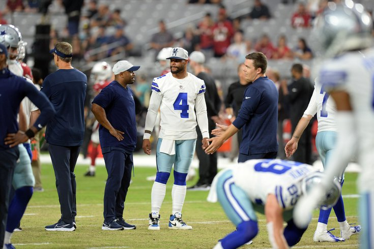 A Look Around At The Nfc East Dak Prescott S Injuries And The Giants Offensive Line Phillyvoice