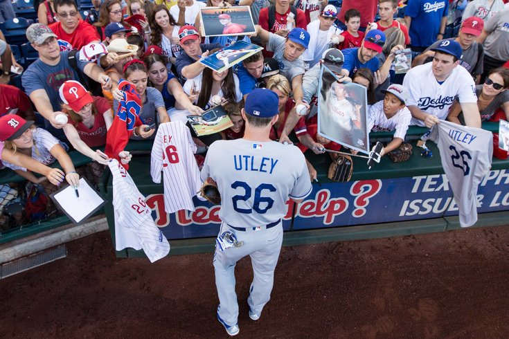 the best attitude 542c5 b6716 Chase Utley had the perfect reaction to missing Phillies ...