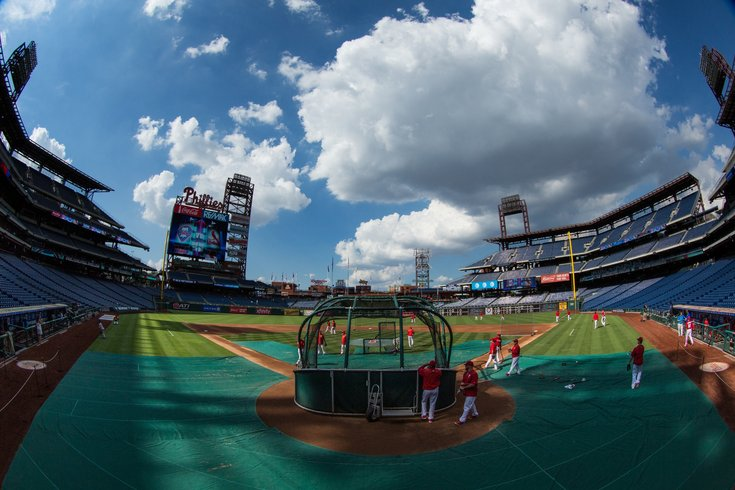 Batting Practice Phillies