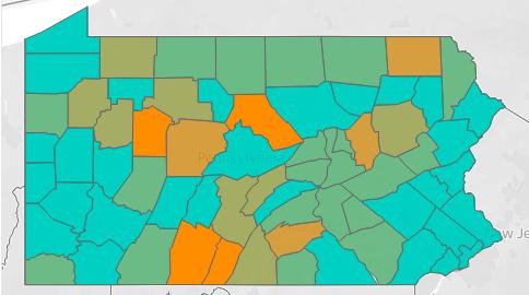 Unacast map coronavirus