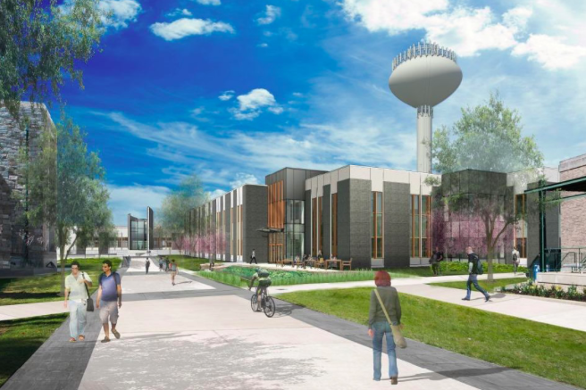 West Chester rendering