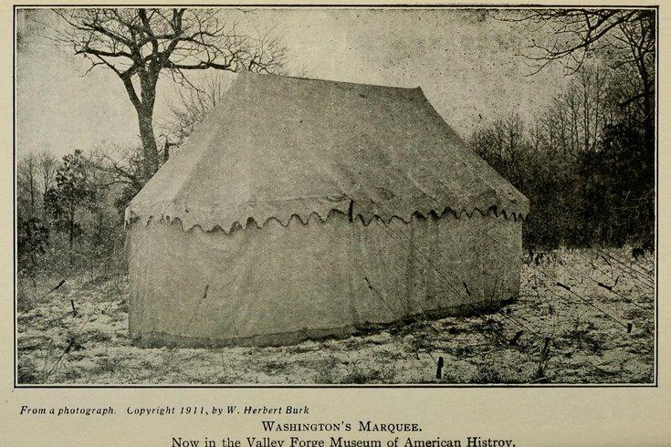 George Washington's marquee tent