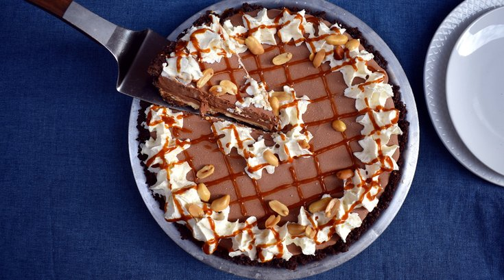Weckerly's Chocolate Sundae Pie for Pi Day