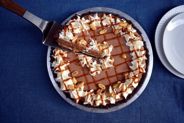 Weckerly's Chocolate Sundae Pie for Pi Day
