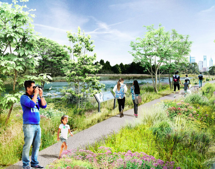 Wetlands FDR Park