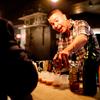 Whiskey Bonanza bartender