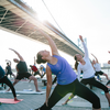 Yoga on Race Street Street Pier