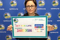 Zaharov Set for Life lottery