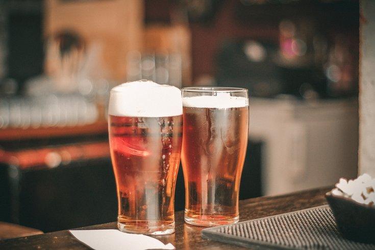 Lager on Bar