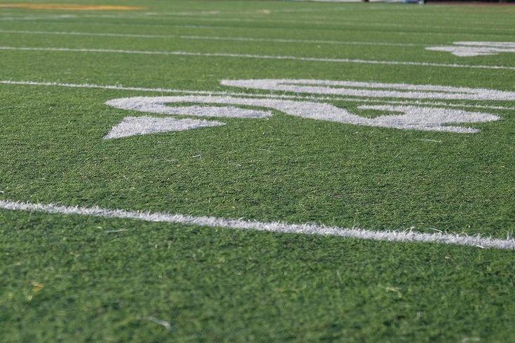 Football field unsplash
