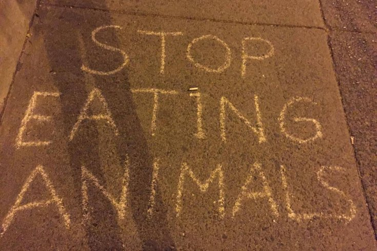 Vegan message
