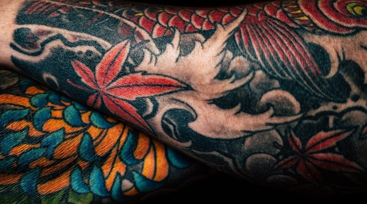 Tattoo needles may cause allergic responses