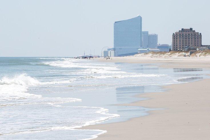 Atlantic City man dies drowning son