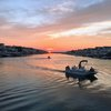 avalon jersey shore sunset