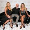 Philly designer Jimmy DeLaurentis with Teresa Giudice and Dolores Catania