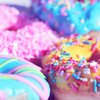 Colorful Array of Donuts
