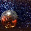 disco ball at dance party