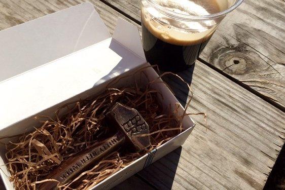 Beer Week chocolate hammer