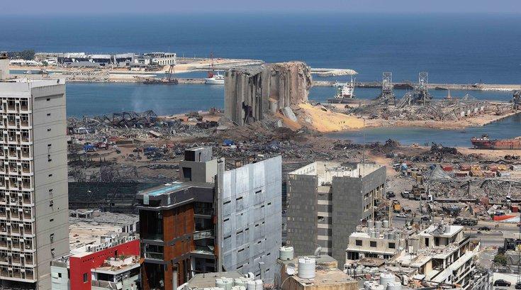 Beirut explosion jet wine bar