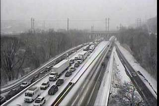 Route I-76 traffic cam at Belmont Ave.