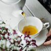 Herbal Tea with floral