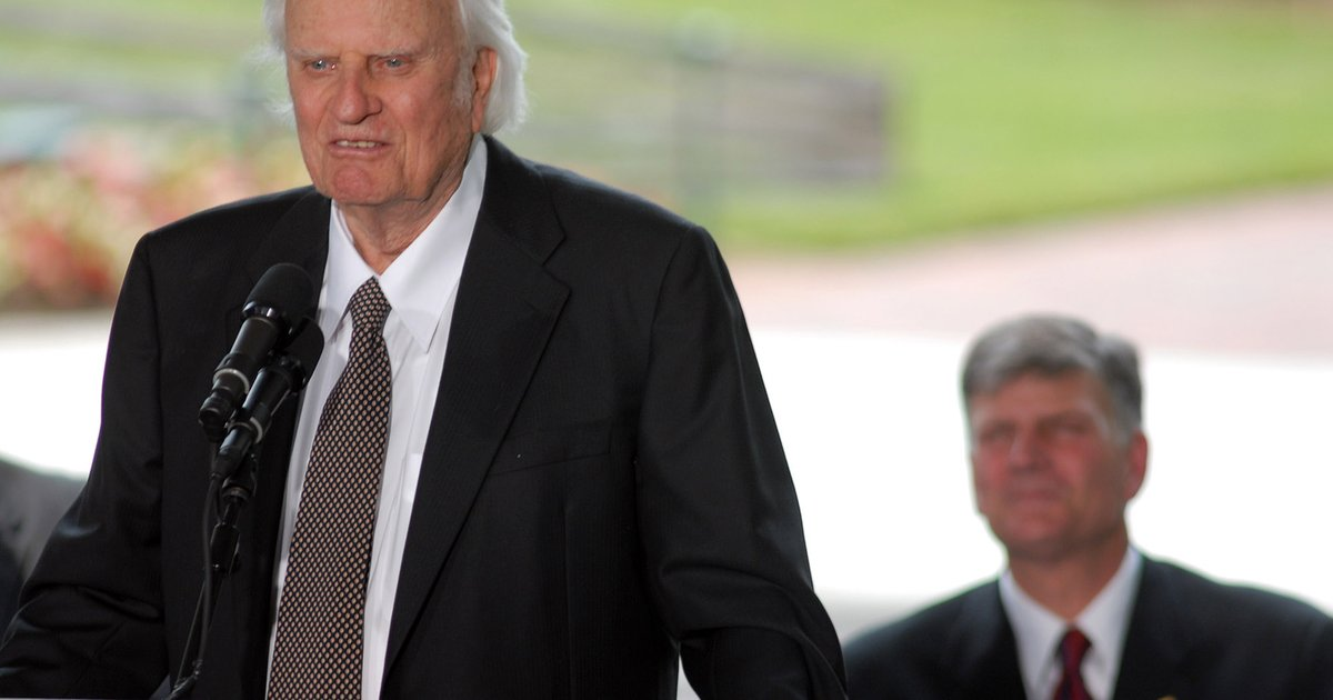 News of Jerome Brown's death broke during Billy Graham's