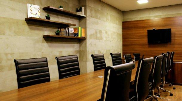 Empty Board Room Photo Executives