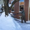blizzard shoveling philly snow