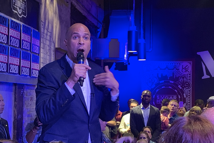 Cory Booker speech