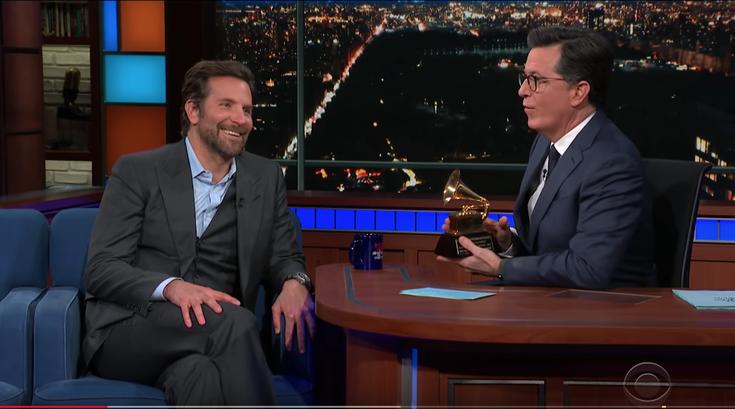 Bradley Cooper talks being a 'Philadelphia idiot' on Colbert