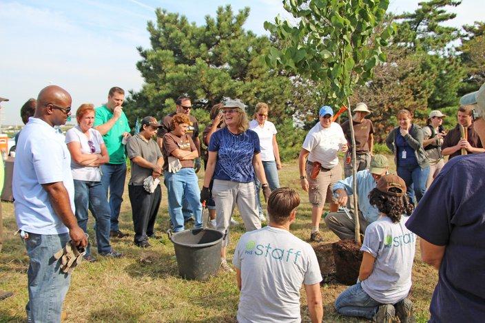 Mindy Tree Planting