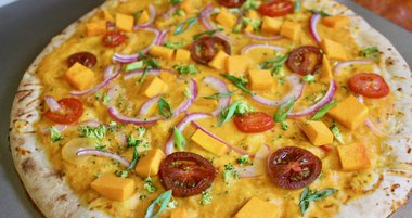Butternut Squash Veggie Pizza IBX LIVE