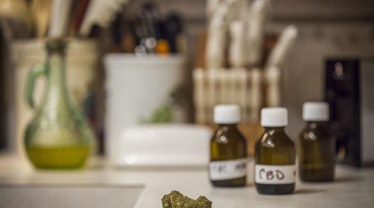 Cannabis PTSD suicide depression