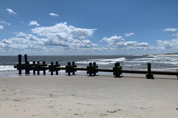 Cape May beach swimmer dies