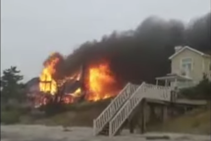 Cape may villas fire
