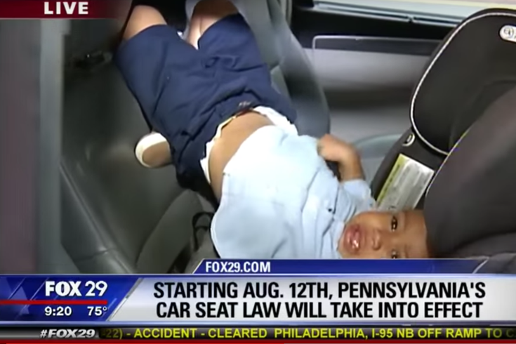 WATCH: Pennsylvania's new car seat law has some kicking and ...