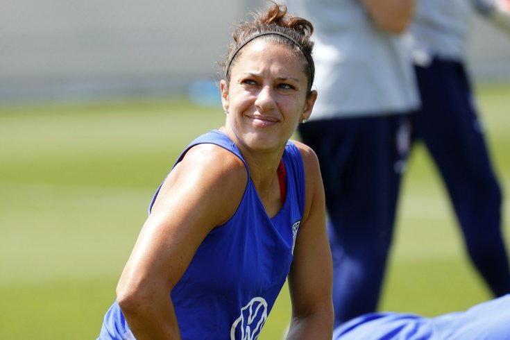 newest a286f 9c2d8 Carli Lloyd said she's received 'inquiries' from teams after ...