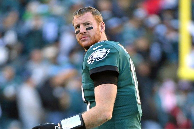 Carson Wentz eagles disgust