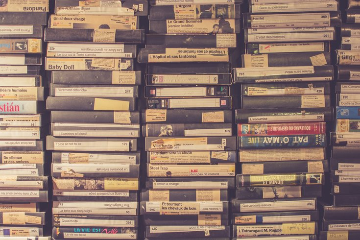 4ba3e39be4a Urban Outfitters is  curating  old  90s VHS tapes and selling them ...