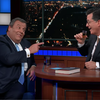 Former NJ governor Chris Christie talks politics and downs tequila on 'Late Show' with Colbert