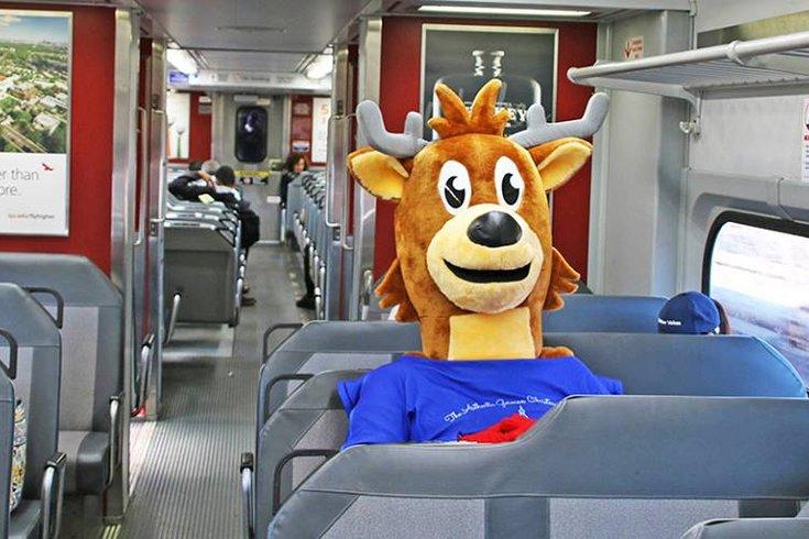 holiday septa train