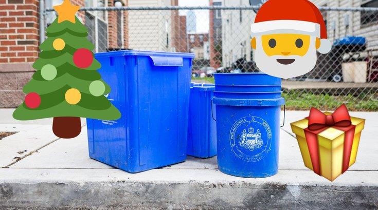 Christmas recycling philadelphia