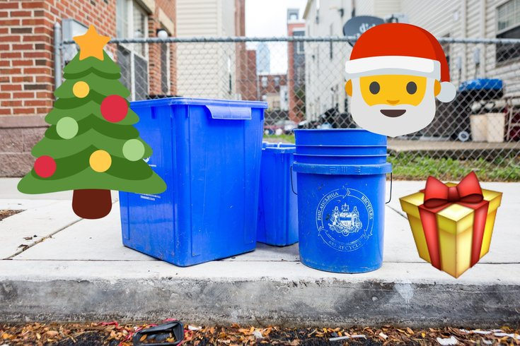Christmas recycling philadelphia