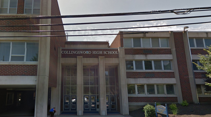 Collingswood high school gun