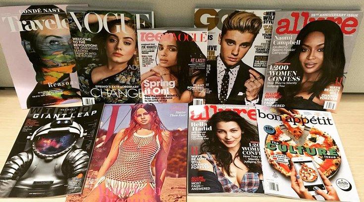 conde nast magazines